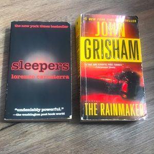 Sleepers & The Rainmaker Books 📚